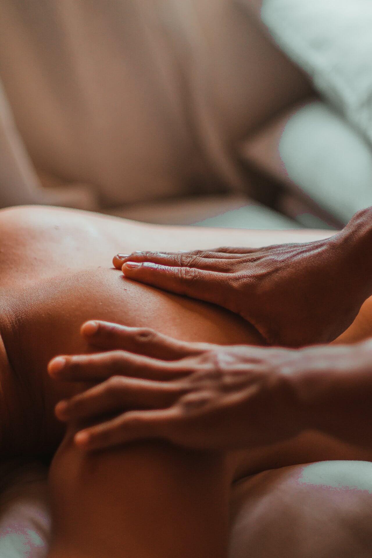 Terapia de masajes relajantes